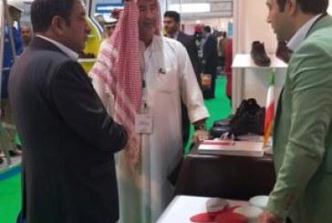 کفش ایمني یحیي در نمایشگاه ایمنی و آتش نشانی اینترسک دبي