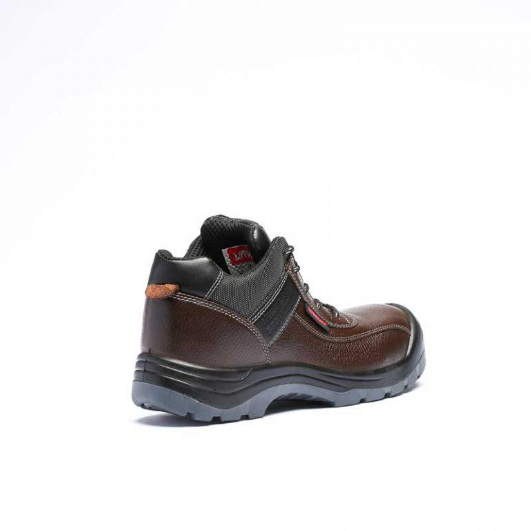 کفش ایمنی مدل Super3M- 999 -قهوه ای
