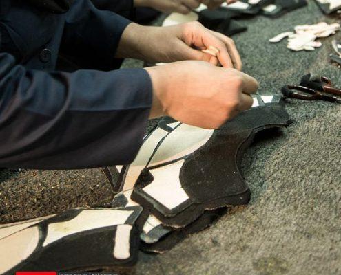 فرایند ساخت کفش6