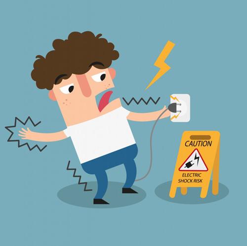 خطرات الکتریکی