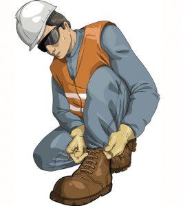 خطرات الکتریکی - پوشیدن کفشهای ایمنی
