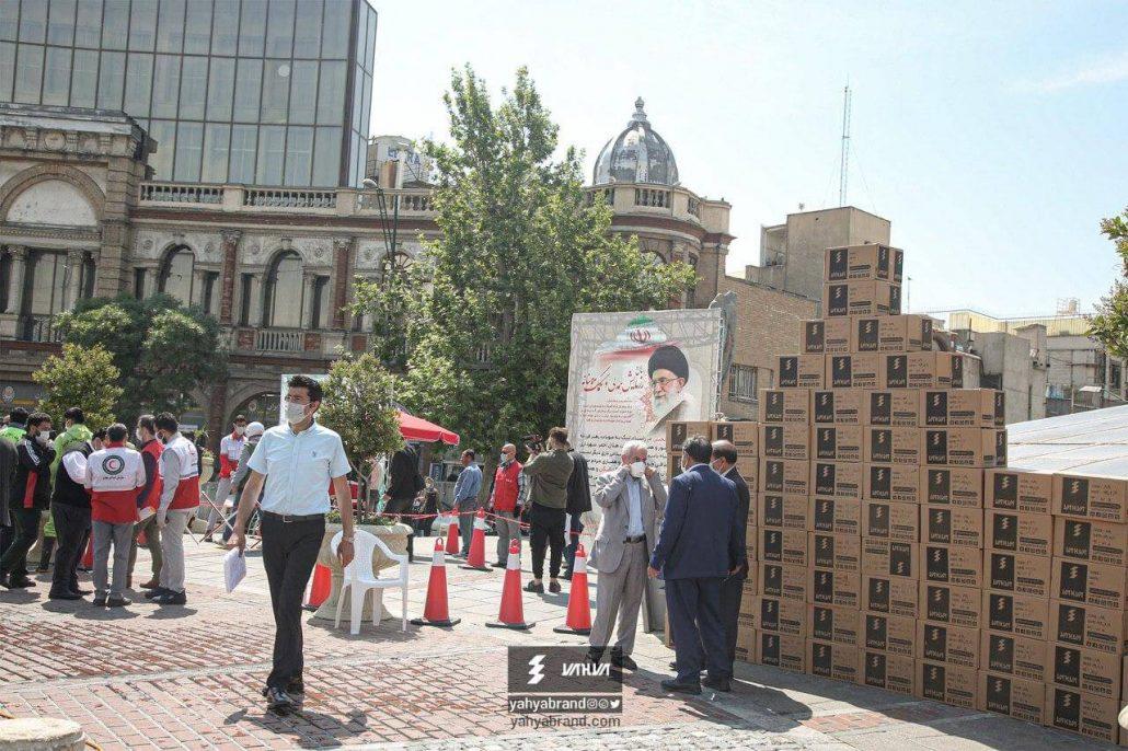 توزیک 100 هزار ماسک رایگان توسط گروه صنعتی یحیی