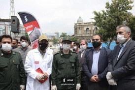 توزیع انبوه ماسک رایگان توسط گروه صنعتی یحیی