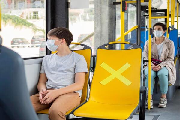 مکان های مناسب برای استفاده از ماسک دهان