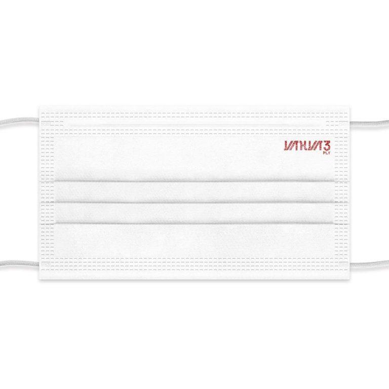 ماسک اقتصادی تمام Ultrasonic کد 19 سفید