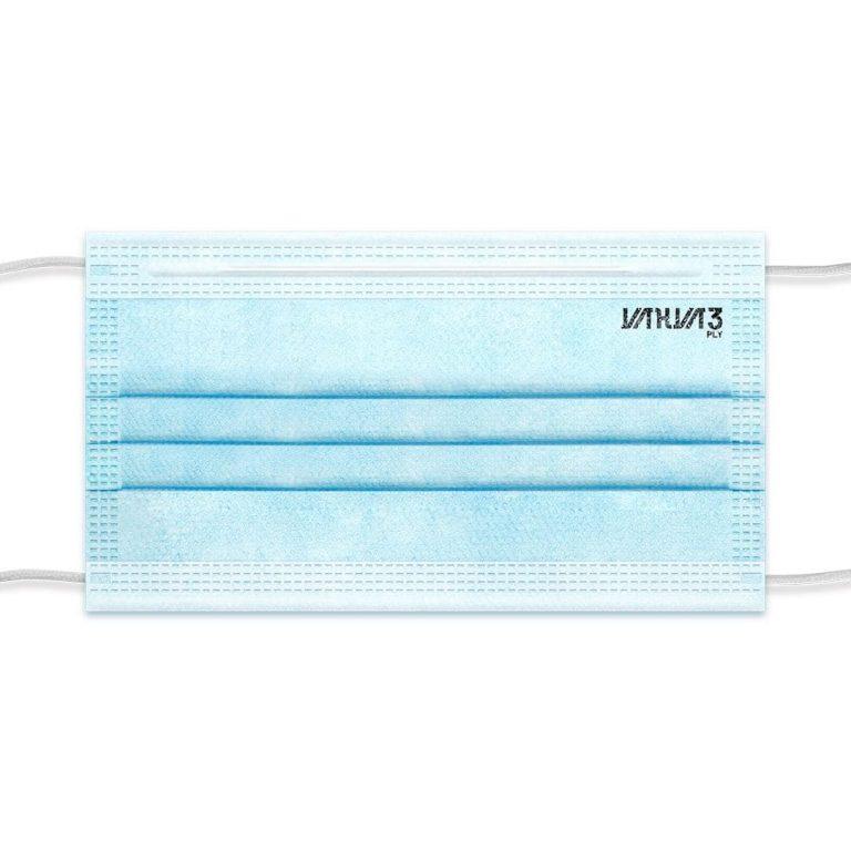 ماسک اقتصادی کد تمام Ultrasonic 19 آبی