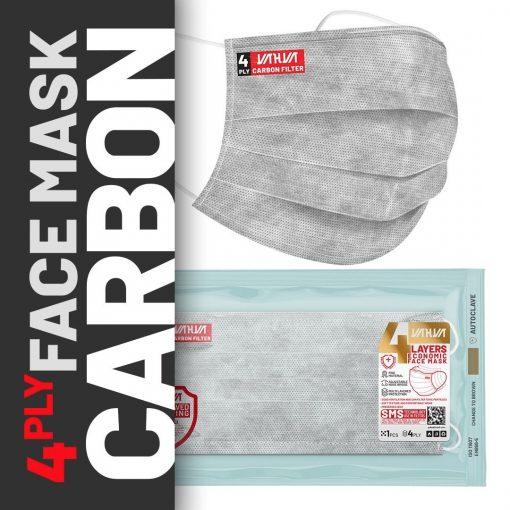ماسک 4لایه کربن اکتیو