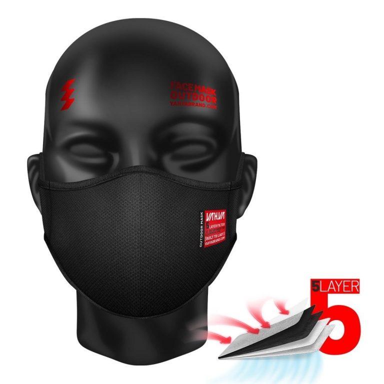 باکس 12 عددی ماسک 5لایه  کد 299 با گیره پشت سر