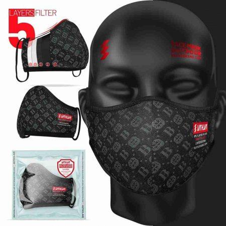 ماسک 5لایه کربن اکتیو یحیی