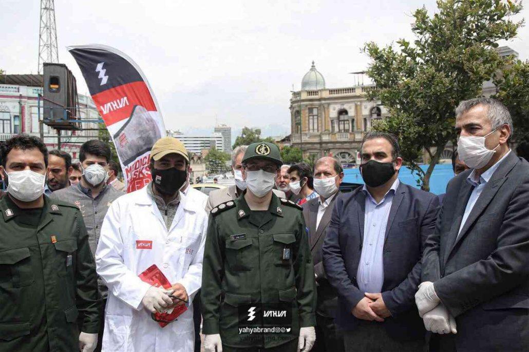 توزیع 100 هزار ماسک رایگان توسط گروه صنعتی یحیی